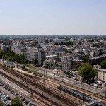 Vue aérienne de l'avenue de Paris 1