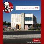 Le Fast Food tant attendu, KFC, avance petit à petit 1
