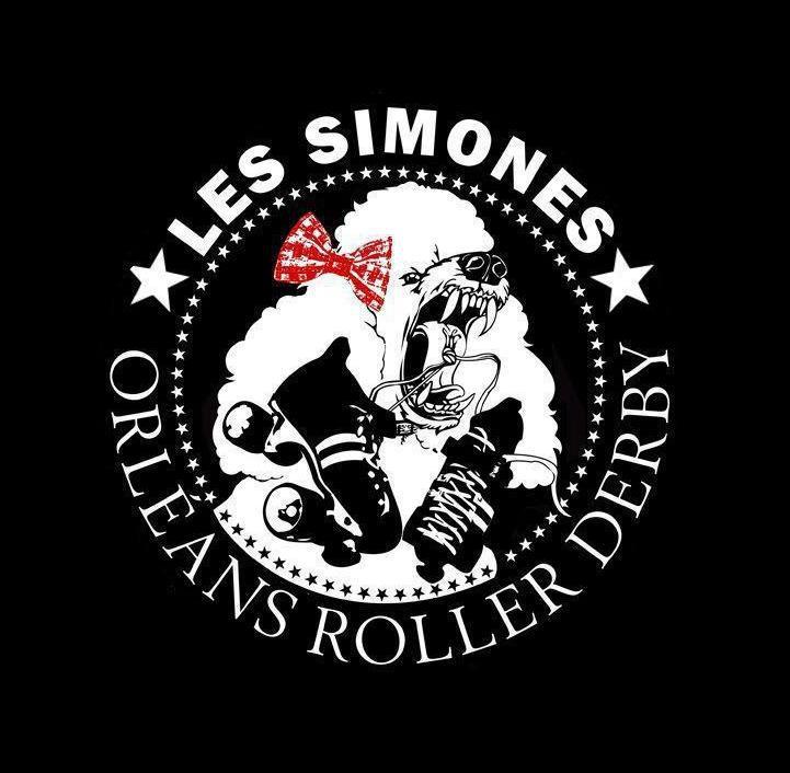 Roller derby les simones orléans logo