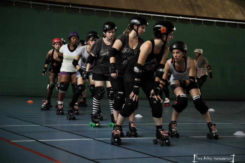 Roller derby les simones orléans photo