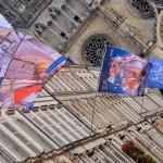 La rue Jeanne d'Arc s'est parée de ses plus beaux atours pour les fêtes de Loire. 1