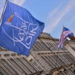 La rue Jeanne d'Arc s'est parée de ses plus beaux atours pour les fêtes de Loire. 2