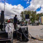 Concert cet après-midi sur le parvis du théâtre avec les groupes Pneu, Marvin, Electric Electric et Papier Tigre 1