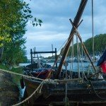 Festival de Loire : Mise à l'eau des derniers bateaux 1