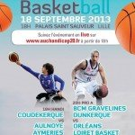 Rendez-vous ce soir, 20 heures à Lille pour le match amical entre Gravelines et le Orléans Loiret Basket. 1