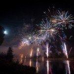 Le feu d'artifice du Festival de Loire 1