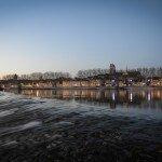 Le quai Châtelet à la tombée de la nuit 1