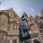 Ma photo du jour : Jeanne d'Arc veille à l'entrée de l'hôtel Groslot 2