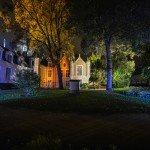 Photos de nuit autour de la Place de l'Étape avec notamment l'hôtel Groslot et le Cathédrale Sainte-Croix. 2