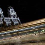 Photos de nuit autour de la Place de l'Étape avec notamment l'hôtel Groslot et le Cathédrale Sainte-Croix. 4