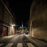 Photos de nuit autour de la Place de l'Étape avec notamment l'hôtel Groslot et le Cathédrale Sainte-Croix. 5