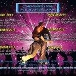 Amis Danseurs, l'Association Salsa Dance Orléans organise des stages de divers styles de danses toute l'année. 1