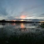 En cette veille de week-end, et comme pour se faire pardonner, la météo nous a offert un ciel magnifique sur Combleux en fin de journée. 4