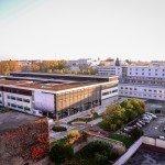 Le Lycée Pothier vu d'un peu plus haut 1