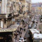 Images du passé et du présent : la rue de la République de 1993 1