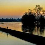 Voici deux clichés pris à l'aube sur le canal à Saint-Jean de Braye 1