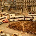 Images du passé et du présent ::A 29 ans d'écart; la place Albert 1er en 1984 et le même lieu en 2013. 1