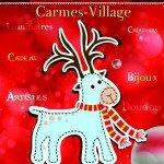 Toute l'équipe de Carmes-village vous attend à son marché de Noël. 2