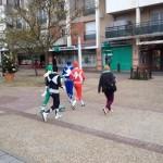 Les Power Rangers surpris en plein Orléans La Source 1