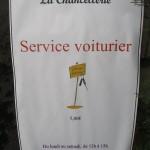 Un service de voiturier à la Chancellerie 1
