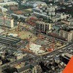 Place d'Arc fête ses 25 ans cette année : petite photo de la construction 1
