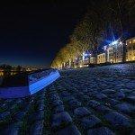 Clichés pris à la tombée de la nuit sur le quai du Châtelet 2
