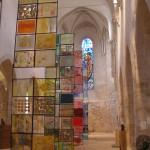 Retrouvez jusqu'au 2 février prochain, l'exposition [ Couleur Vinaigre, résonances ] à la Collègiale Saint-Pierre le Puellier (Quartier Bourgogne). 3