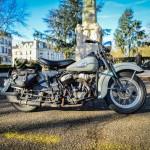 Une magnifique Harley 1