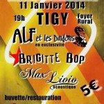 Concert sympa à Tigy avec la présence d' Alf et les dindons, Brigitte Bop et Max Livio 1