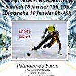 Compétition de Short Track ce weekend à la patinoire d'Orléans. 1