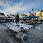 Mon image du jour : retour du marché place du Martroi 74