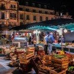 Quelques images du marché de nuit sur le place du Martroi 1