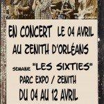 Les Swindlers seront en concert à Orléans le 4 avril 2014 à l'occasion d'une semaine dédiée aux Sixties. 1