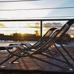 Les Chaise longues sur les Bords de Loire … un des meilleurs spots pour profiter du soleil et de son couché. 1