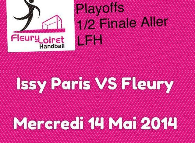 [Handball : PlayOffs, 1/2 Finale] : Fleury Loiret Handball VS Issy Paris Hand 1