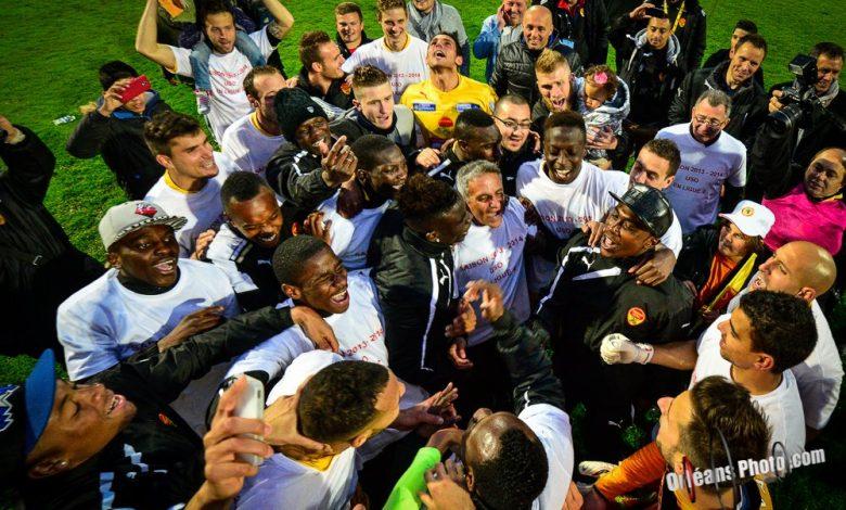 Quelques photos du match de la montée en ligue 2 de l'US Orléans 1