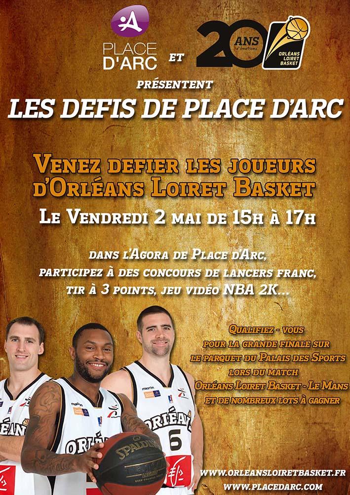 [Basket] : Animation avec les joueurs de l'Orléans Loiret Basket 1