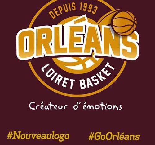 [Basket] : L'Orléans Loiret Basket dévoile son nouveau Logo ! 1