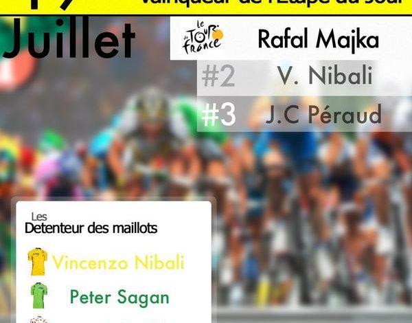 [Tour de France 2014] : La 14éme étape pour le Polonais Rafal Majka ! 1