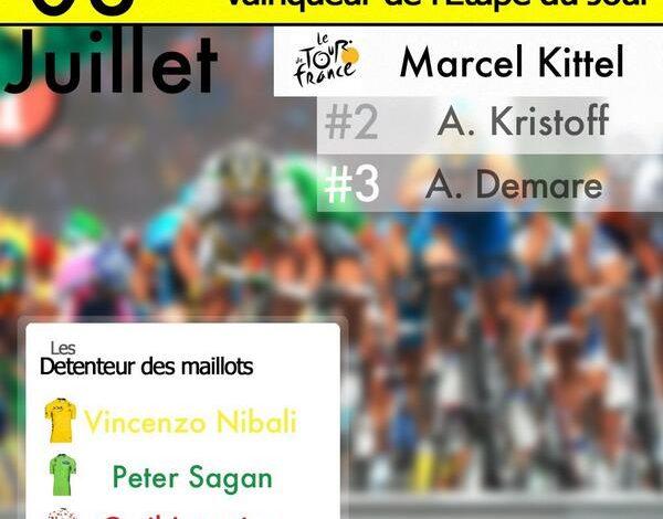 [Tour de France 2014] : La 4éme étape pour Marcel Kittel ! 1