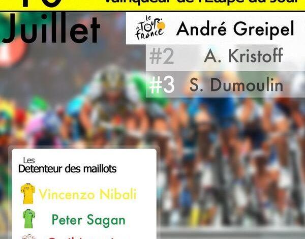 Tour de France 2014 : La 6éme étape pour l'Allemand André Greipel ! 1
