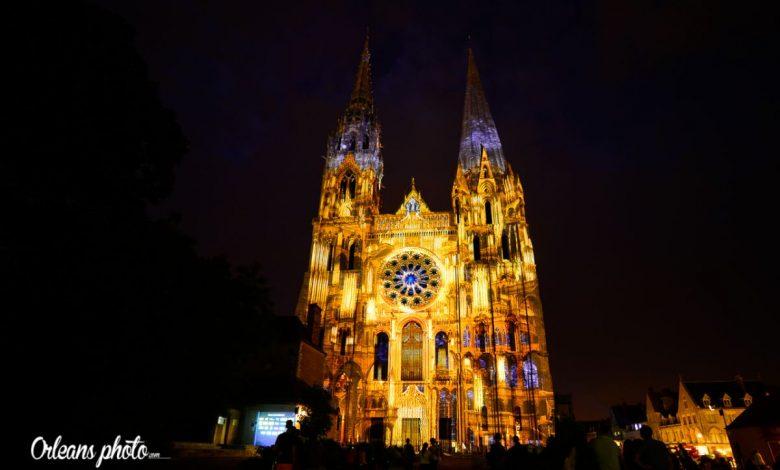 Photo du jour / idée sortie : Chartres en lumières 1