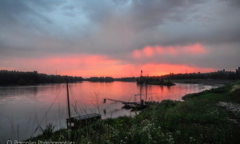 Images du jour : somptueux coucher de soleil sous les orages 1