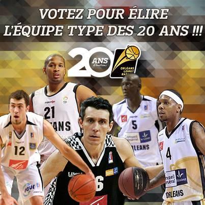 [Basket] : Le 5 Majeur de l'Orléans Loiret Basket 1