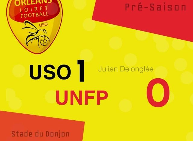 [Football] : US Orléans Loiret Football 1-0 UNFP 1