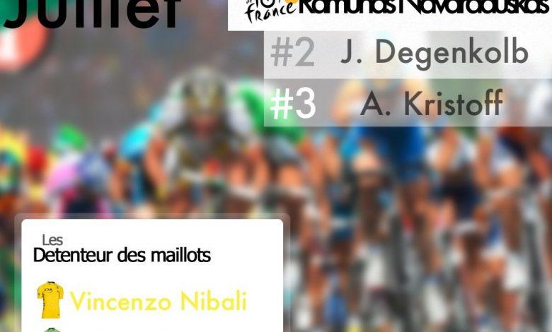 [Tour de France 2014] : 19éme étape Ramunas Navardauskas en solitaire 1