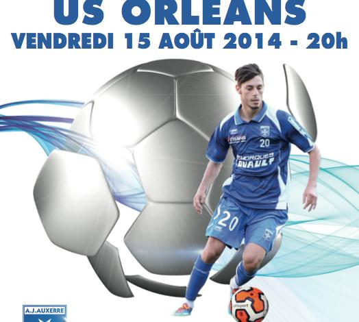 [Football / Ligue 2, 3éme Journée] : AJ Auxerre 0-1 US Orléans Loiret Football 1