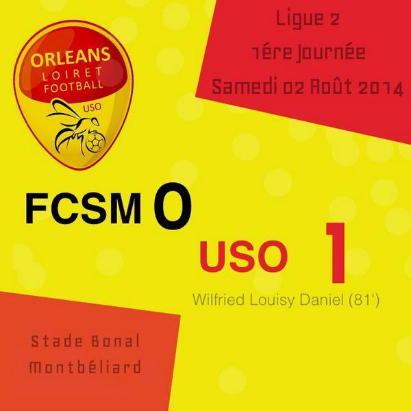 [Football, Ligue 2 / 1ére Journée] : FC Sochaux 0-1 US Orléans  86