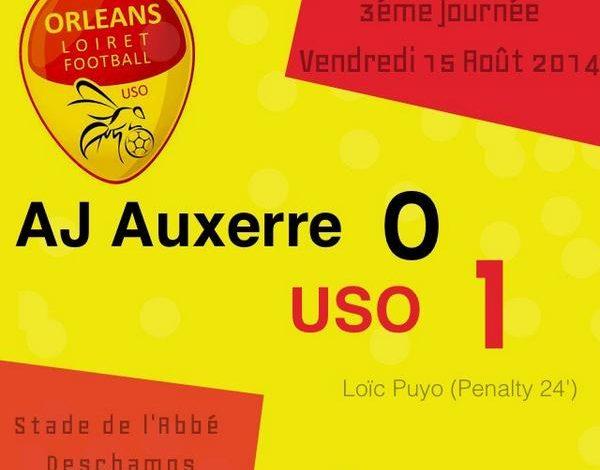 [Football / Ligue 2, 3éme Journée] : AJ Auxerre 0-1 US Orléans (Résumé Vidéo) 1