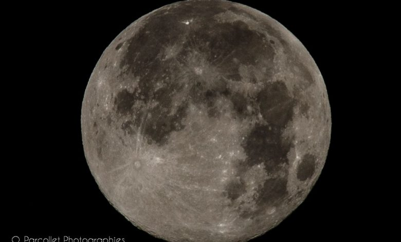 Dimanche dernier, c'était la nuit de la super lune 1